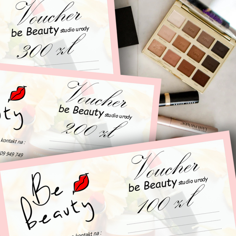 Voucher on-line na dowolne zabiegi w Be Beauty w Pile.