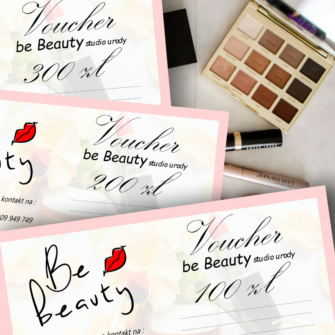 Voucher on-line na dowolne zabiegi w Be Beauty w Pile.